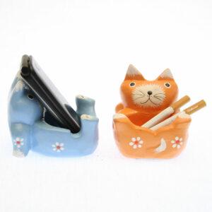 POSACENERE O PORTACELLULARE CON ANIMALETTI ( gatto, rana, elefante )