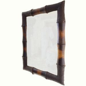 SPECCHIERA IN BAMBOO DECAPATA (cm 60 X 80)