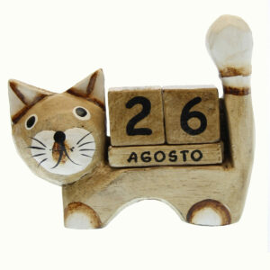 CALENDARI PERENNI GATTO CODINO IN SU'
