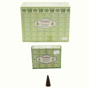 INCENSI IN CONO GOLOKA PATCHOULI (conf.12 p.x 10 coni)